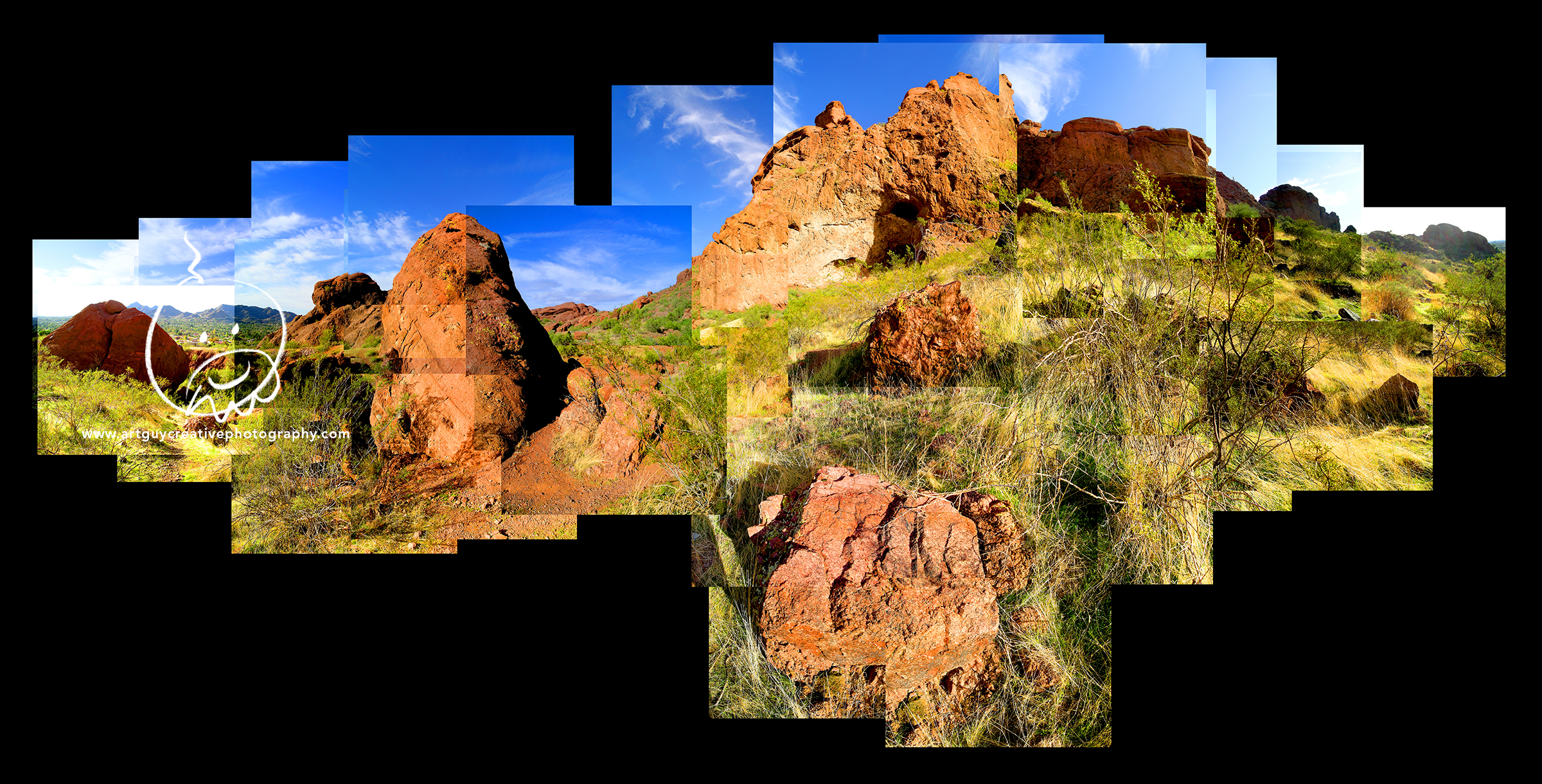 Camelback Mountain Montage Photography