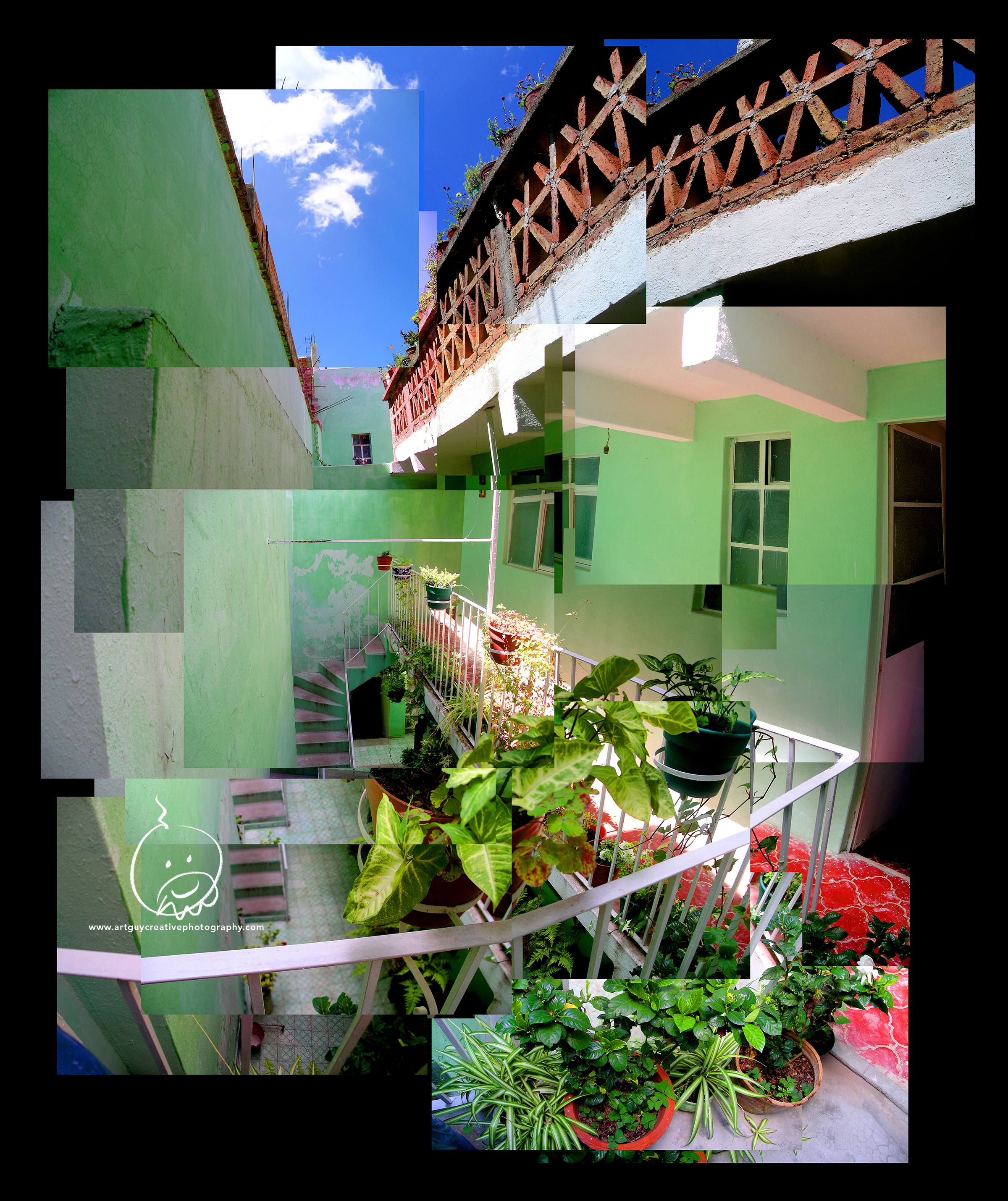 Guanajuato Mexico Montage Photography