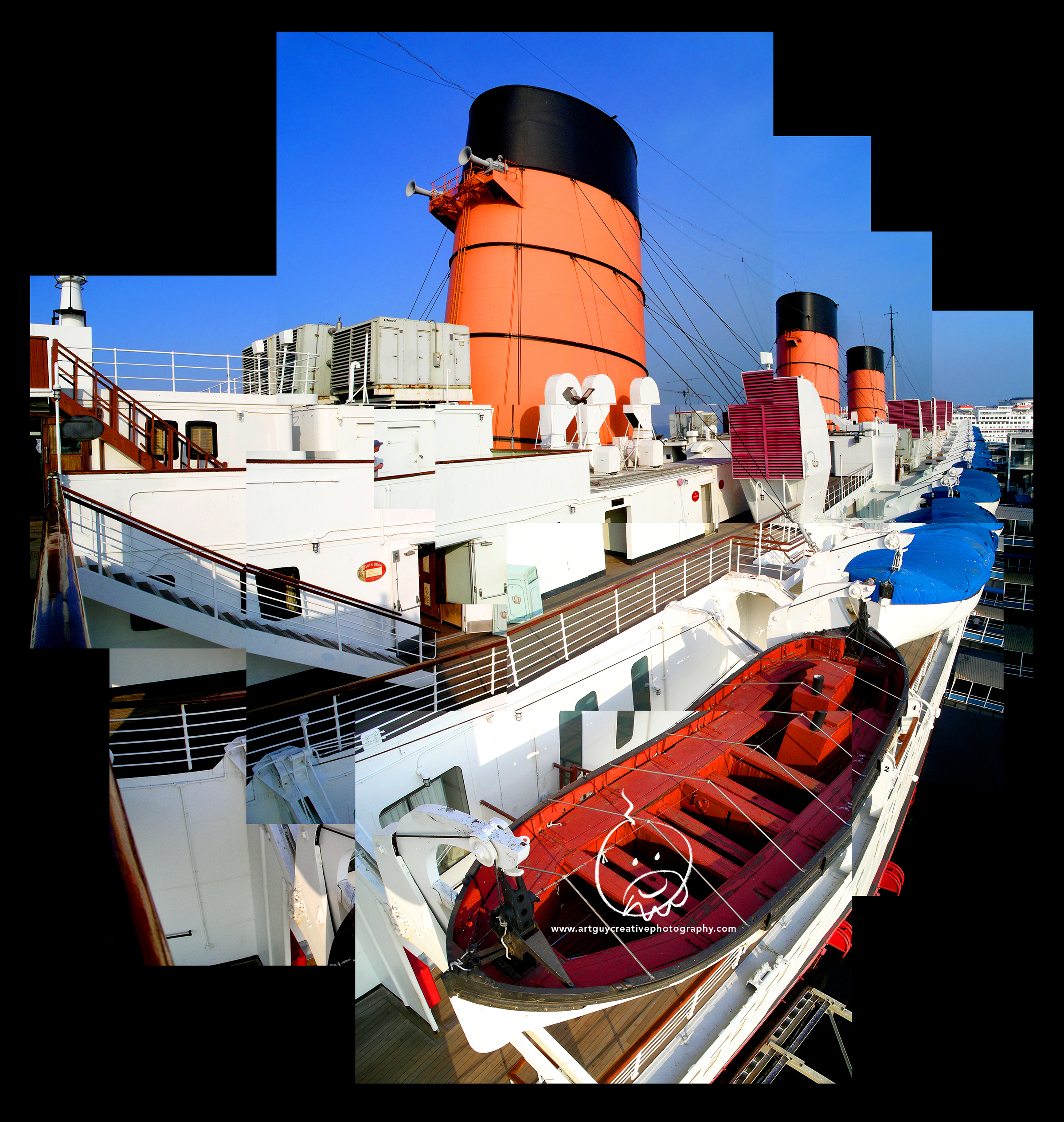 Queen Mary California Photography